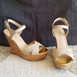 Guess wedge heels/sandles